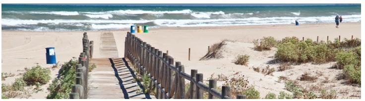 PlayaCan es una playa para perros de arena fina y dotada con todos los servicios, abierta los meses de verano.