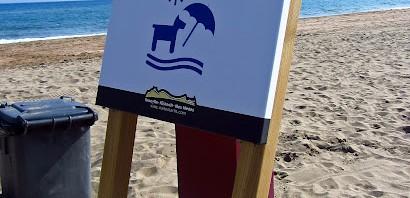 Playa de La Platera en Girona admite perros