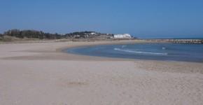 Playa para perros en Vilanova i la Geltrú