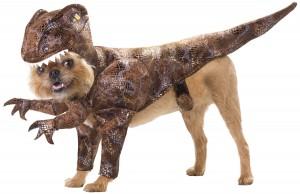 Disfraz de dinosaurio para perros
