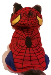 Disfraz para perros de spiderman