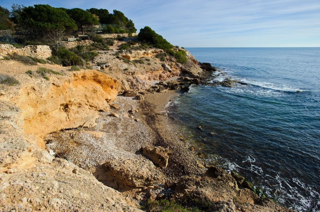 cala cementiri en ametlla de mar admite perros