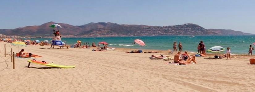 Playa de la Rubina para Perros en Girona
