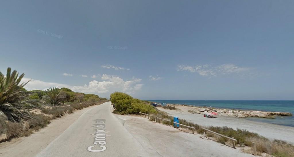 Playa para Perros Cala III del Cuartel en Santa Pola