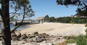 Playa de O Espiño para Perros en Galicia.
