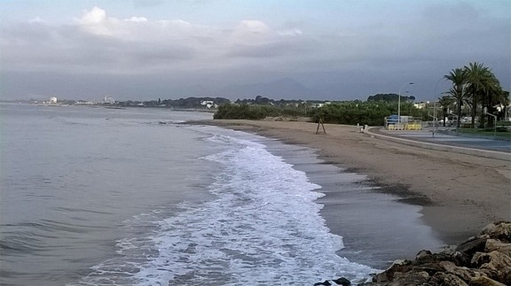 Playa para Perros Riera d'Alforja en Cambrils