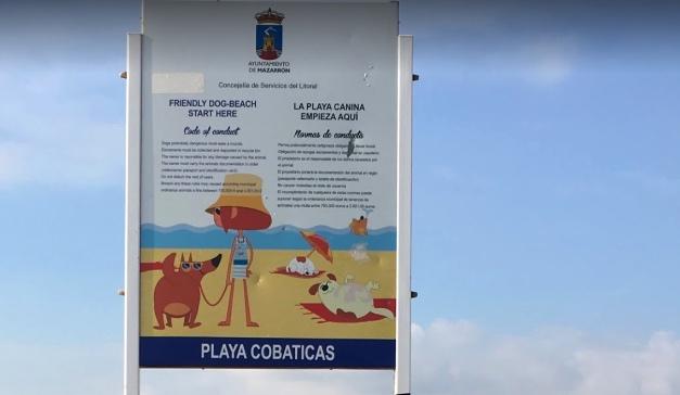 playa de las cobaticas en murcia