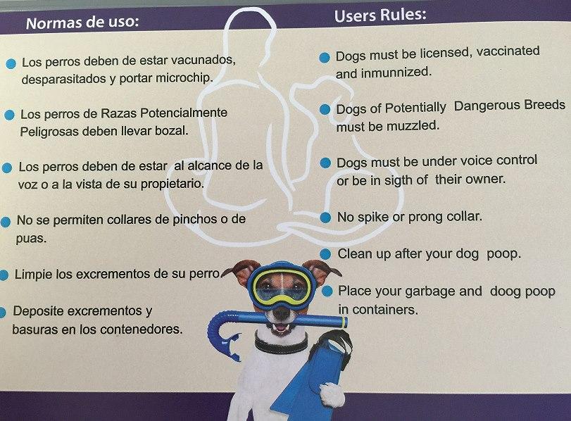 normas-de-la-playa-para-perros-de-aguilas