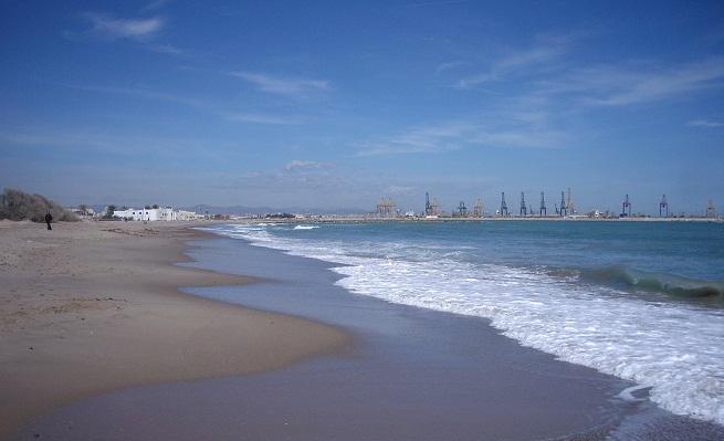 playa para perros en pinedo valencia