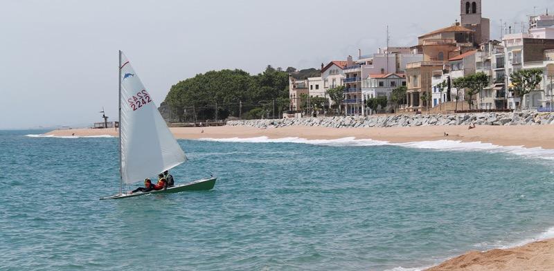 Playa para perros en Sant Pol de Mar (Barcelona)
