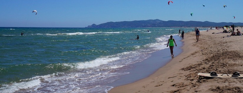 Nueva Playa para perros en L'Estarit, Girona
