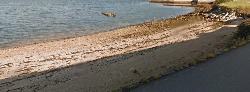 Playa para perros O Castelete en Vilagarcía de Arousa