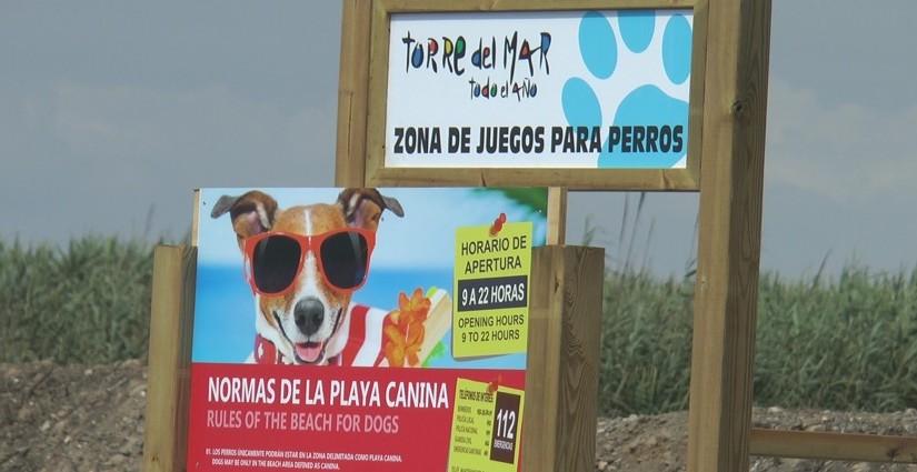 Playa Para Perros en Torre del Mar, Málaga