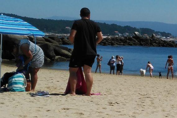 Playa para perros O Espiño