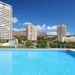 Apartamento Terramar con vistas a la montaña, piscina al aire libre y mascotas gratis