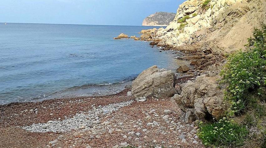 Cala dels Gats, playa para perros en Mallorca