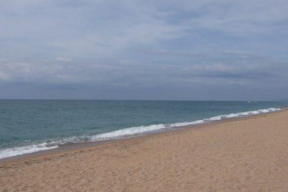Playa para perros de Pineda de Mar