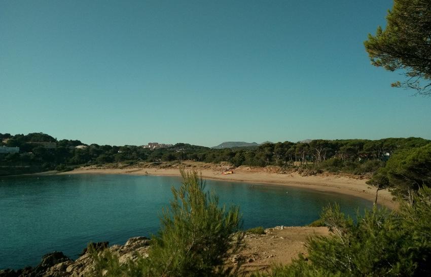 Playa para perros Rec del Molí en Girona Cataluña