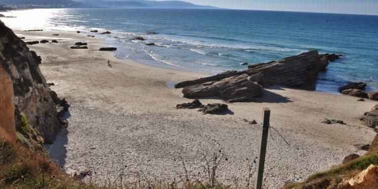 playa para perros punta coveira barreiros lugo