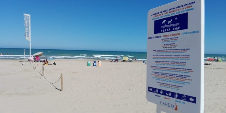 playas para perros en España 2018