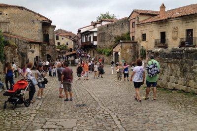 Foto de las calles de Santillana del Mar