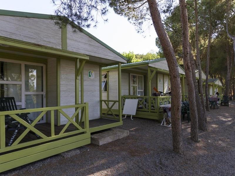 Disfruta del camping Altomira con tu mascota y alojate en bungalows de madera en plena naturaleza