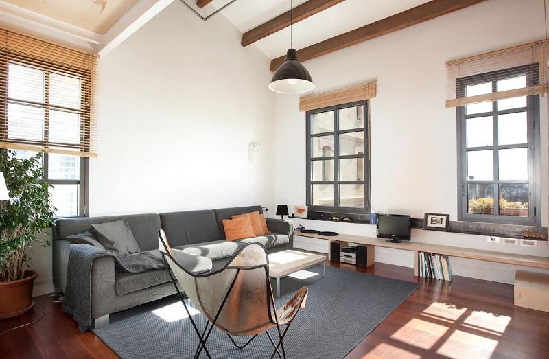 Beach Loft Duplex en Barcelona, un apartamentos muy elegante que acepta perros gratis