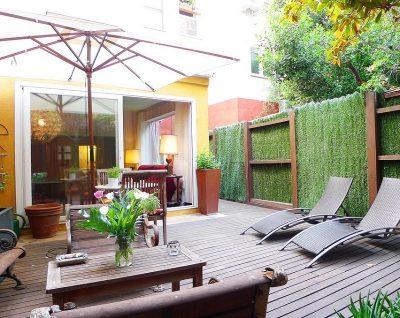 Foto del exterior de un bonito apartamento que acepta mascotas GRATIS en Madrid