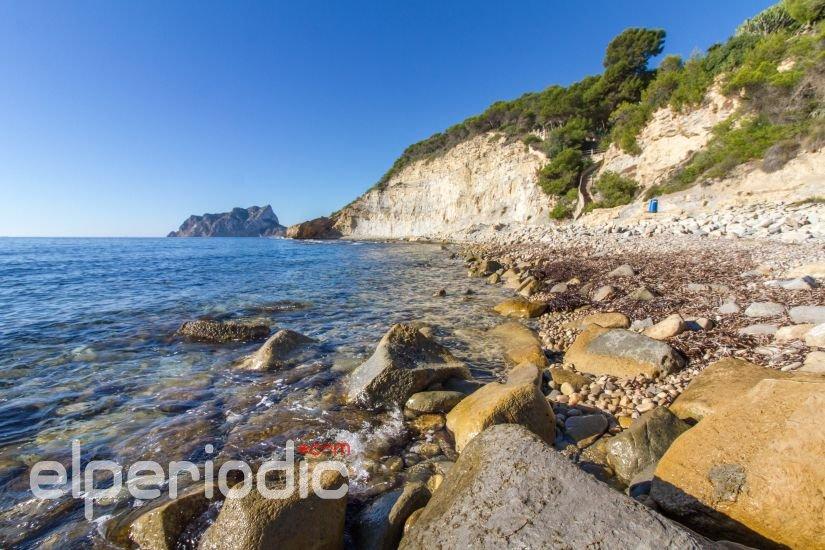 cala llobella playa canina de Benissa