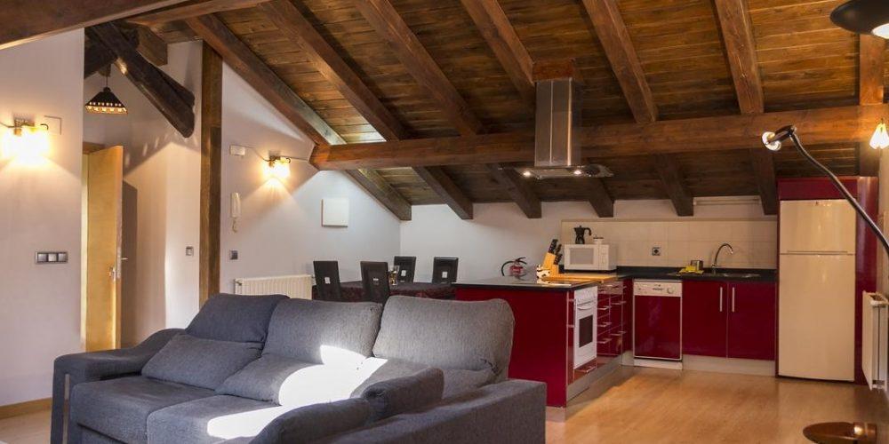 Foto del Interior de un apartamento en Isaba de nuestra seleccion de apartamentos que aceptan perros gratis en Navarra