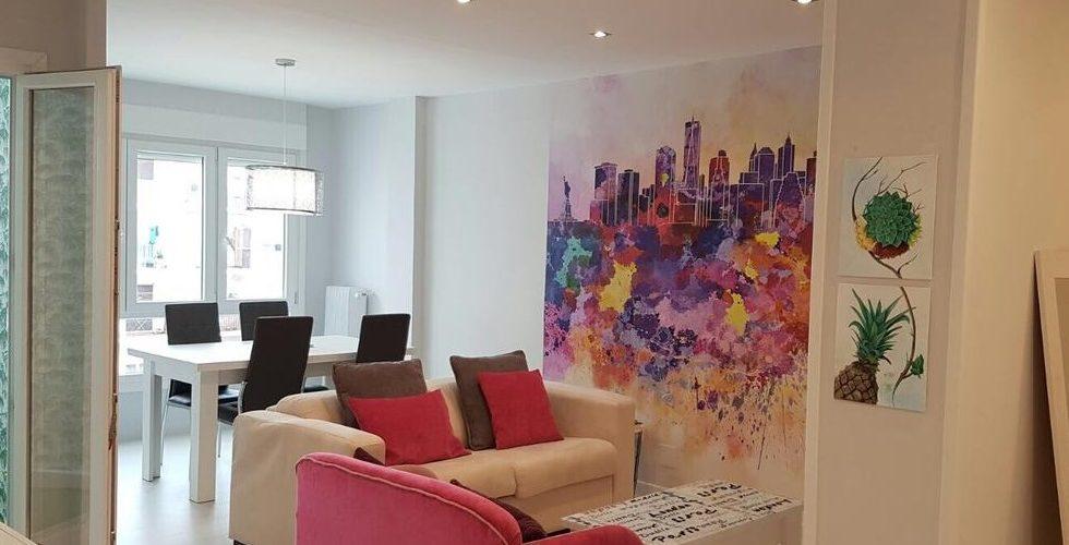 Foto del interior de uno de los mejores apartamentos que admiten perros en la provincia de La Rioja