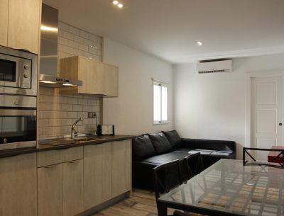 Foto del interior de un apartamento en Zaragoza que admite perros donde puedes alojarte con tu mascota para visitar la ciudad