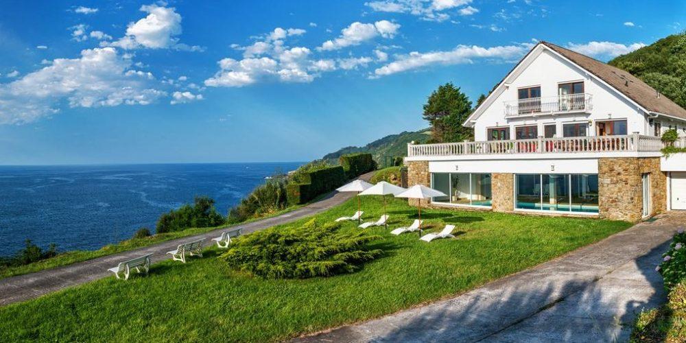 Villa que admite perros cerca de San Sebastián en plena naturaleza