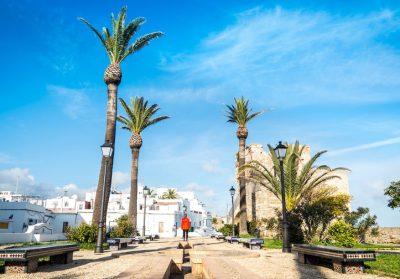 Foto de Tarifa donde puedes visitar con tu mascota los mejores lugares y rincones de esta ciudad