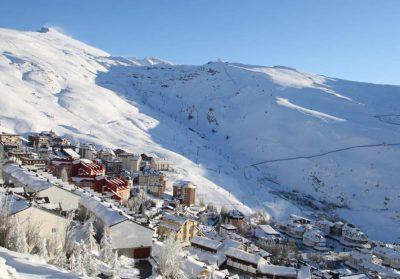 Foto de Sierra Nevada y el encanto de la epoca en la que está nevada