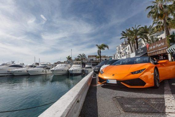 Foto del Puerto de Marbella