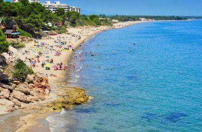 Foto de la playa en Miami Platja