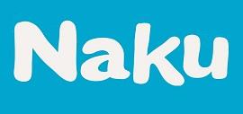 Logotipo de la marca de piensos para perros Naku