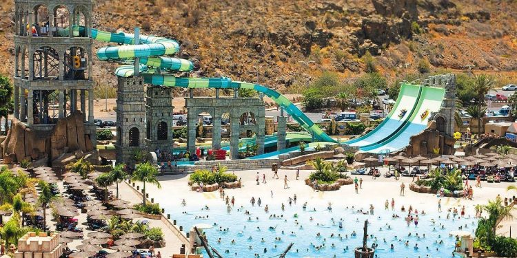 Foto del parque acuático que tienes en San Bartolomé de Tirajana en Gran Canaria