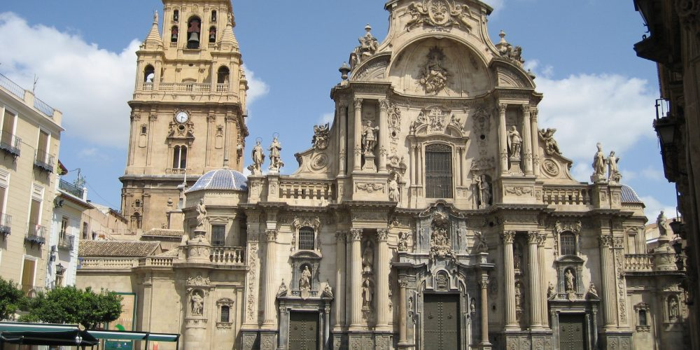 Foto de la catedral de Murcia