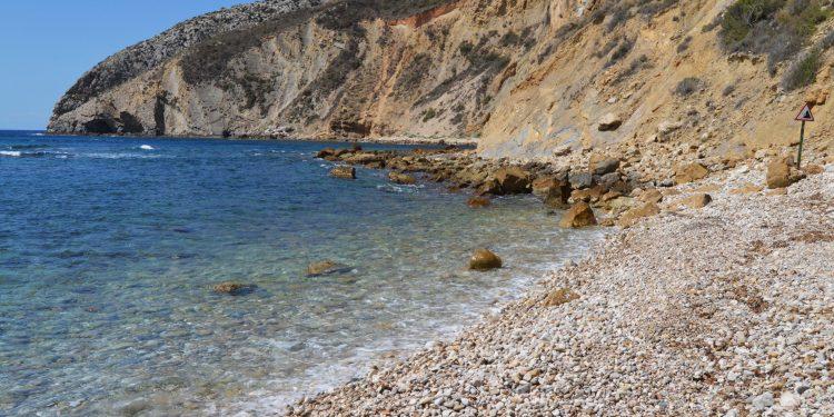 Cala les urques en Calpe playa canina