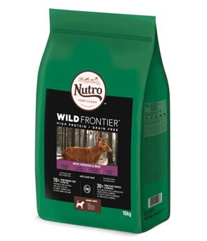 Saco Nutro Wild Frontier Adult Venado y Ternera
