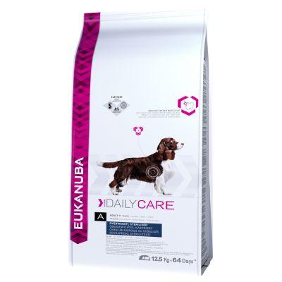 Croquetas Eukanuba para perros esterilizados para evitar el sobrepeso