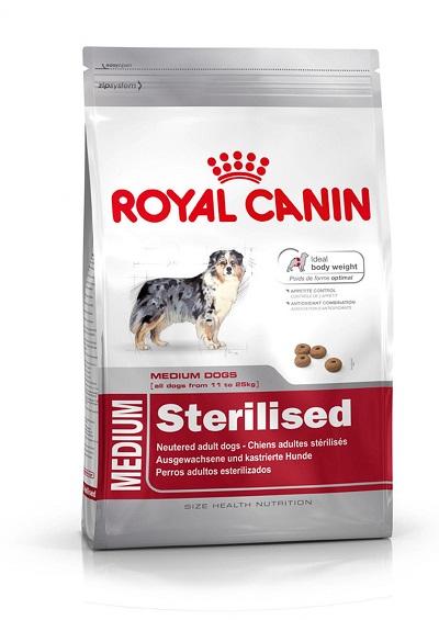 Royal Canin croquetas para perros esterilizados