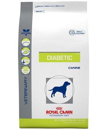 Piensos y croquetas para perros con diabetes de la marca Royal Canin