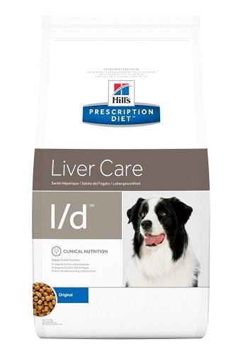 Pienso para perros con problemas hepáticos Hill's Diet Canina l/d