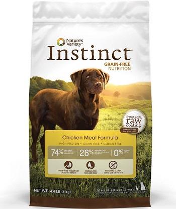 Pienso para perros con problemas hepáticos Nature's Variety Instinct Grain Free Dry Food