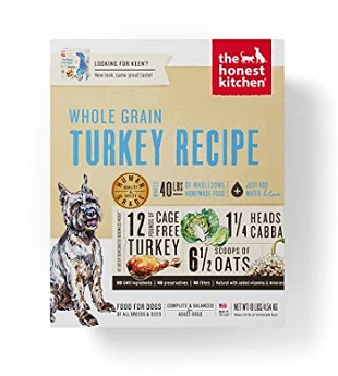 Pienso para perros con enfermedades hepáticas de The Honest Kitchen Dehydrated Organic Dog Food