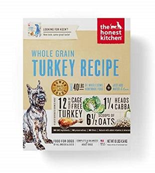 Pienso para perros con enfermedades hepáticas de The Honest Kitchen Dehydrated Organic Dog Food
