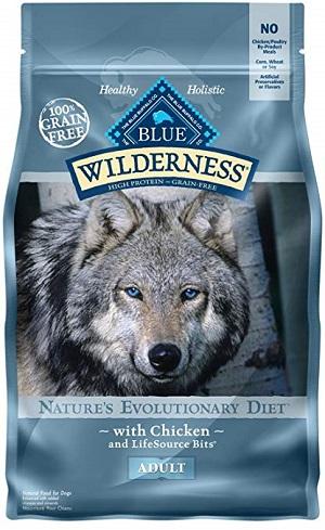 Pienso para perros con problemas y enfermedades de tipo hepático Wilderness Blue Buffalo Adult Dry Food